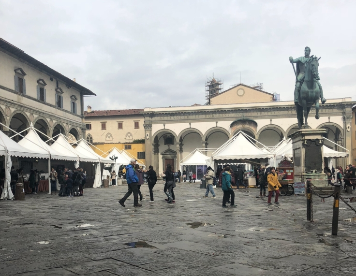 Chocolate Festival in Florence.
