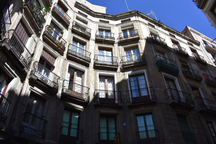 Picasso's father's home in Barcelona.