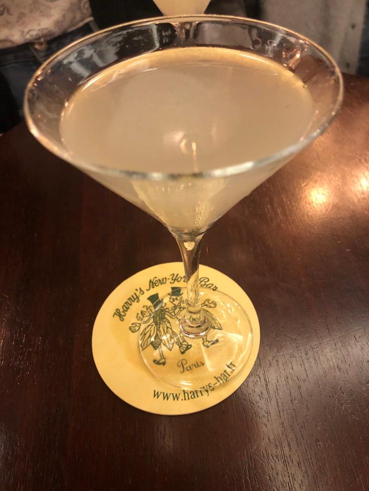 Drinks at Harry's New York Bar.