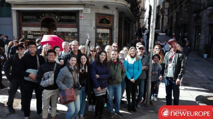 Sandeman's Barcelona group tour