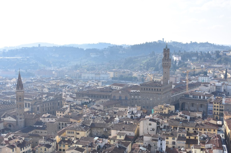 View from the Duomo in Florence.