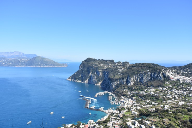 The island of Capri, in Italy.
