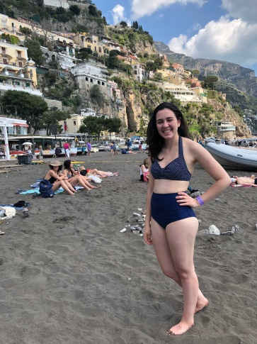 I enjoyed the beach so much that I even got a photo!