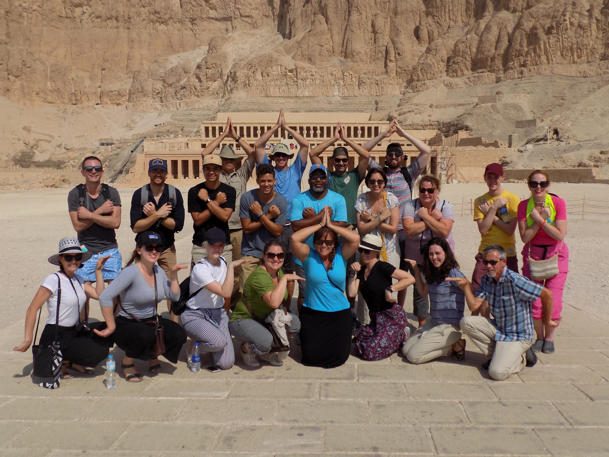 Encounters Travel group in Egypt!