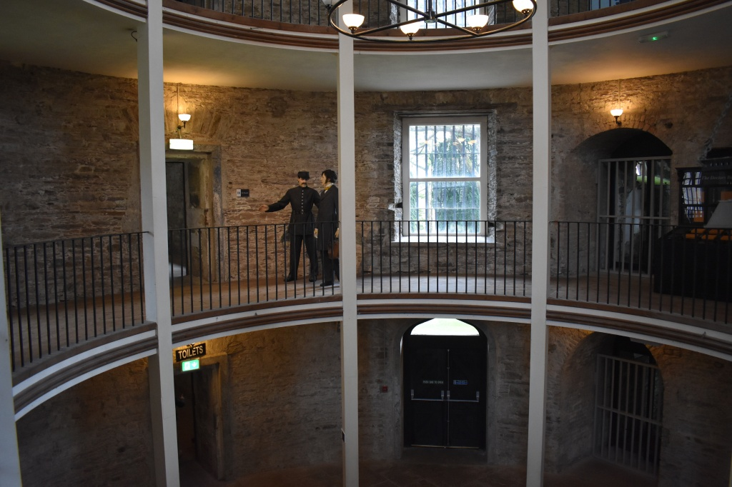 Caution: a fair number of wax figures can be found hidden in the Cork City Gaol.