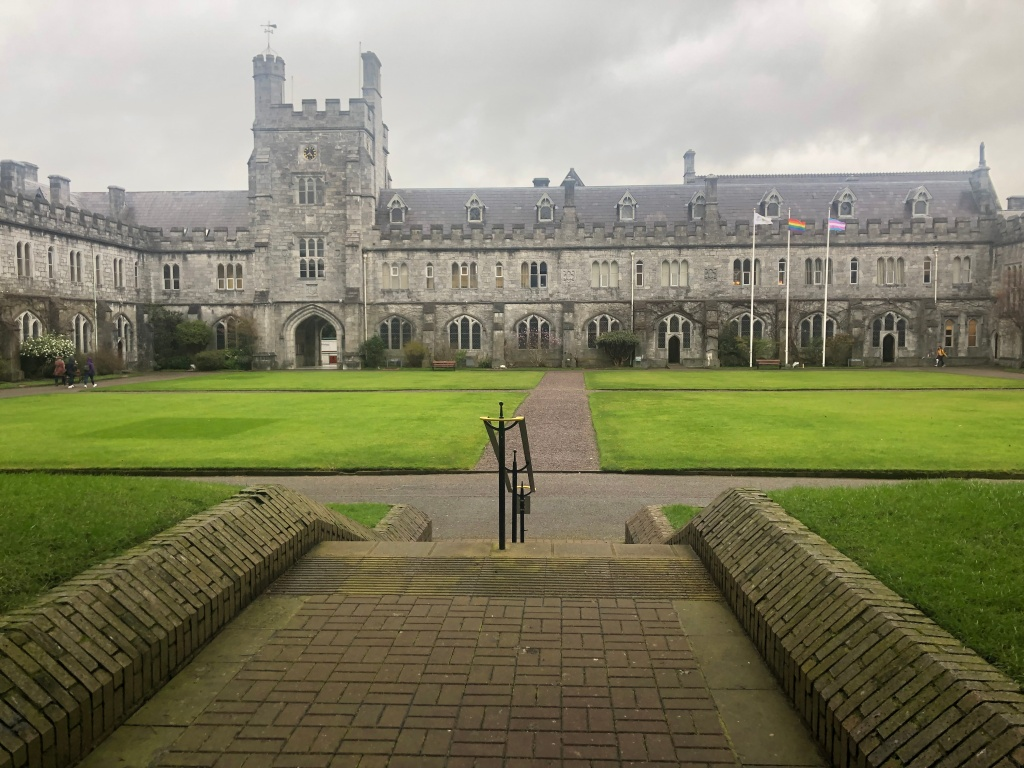 University College Cork (UCC) quadrangle.
