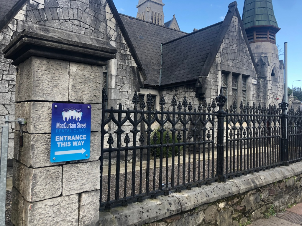 Converted church/ dentist office in Cork. Can this be my dentist, please?